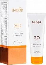 Düfte, Parfümerie und Kosmetik Anti-Aging Sonnenschutzcreme für das Gesicht SPF 30 - Babor Anti-Aging Sun Care Sun Cream SPF 30