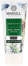 Düfte, Parfümerie und Kosmetik Aqua Gesichtsmaske - Markell Cosmetics Skin&City Face Mask