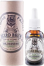 Düfte, Parfümerie und Kosmetik Pflegendes und feuchtigkeitsspendendes Bartöl - Mr. Bear Family Brew Oil Wilderness