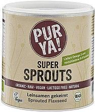 Düfte, Parfümerie und Kosmetik Bio Leinsamen gekeimt - Purya Super Sprouts Sprouted Flaxseed