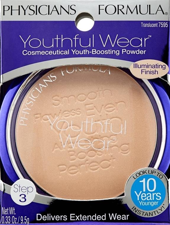 Illuminierender Gesichtspuder - Physicians Formula Youthful Wear Illuminating Face Powder — Bild N1