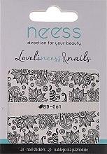 Düfte, Parfümerie und Kosmetik Nagelsticker 3685 BD-061 - Neess LoveliNeess & Nails
