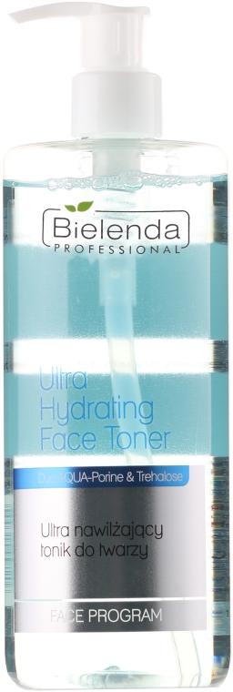 Extra feuchtigkeitsspendendes Gesichtstonikum - Bielenda Professional Face Program Ultra Hydrating Face Toner