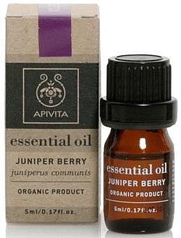 "Ätherisches Öl ""Wacholder"" - Apivita Aromatherapy Organic Juniper Oil — Bild N1"