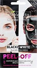 Düfte, Parfümerie und Kosmetik Gesichtsmaske - Bielenda Carbo Detox Black & White Mask