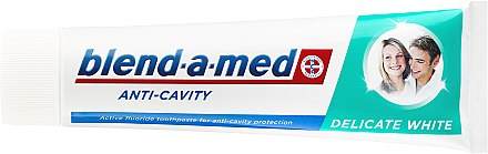 Zahnpasta Anti-Cavity Delicate White - Blend-a-med Anti-Cavity Delicate White — Bild N2