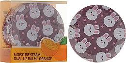 Düfte, Parfümerie und Kosmetik Lippenbalsam mit Orangenaroma - SeaNtree Moisture Steam Dual Lip Balm Orange 3