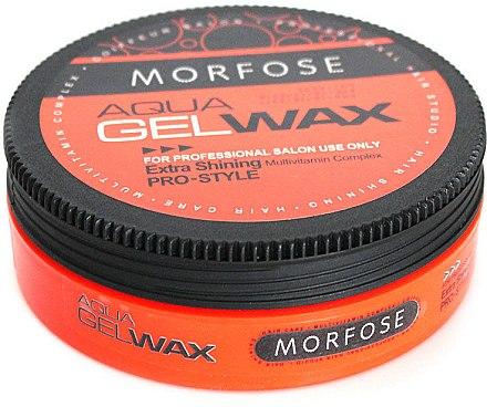 Haarwachs - Morfose Aqua Gel Wax Extra Shining — Bild N1