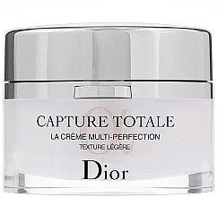Düfte, Parfümerie und Kosmetik Revitalisierende und glättende Anti-Aging Gesichtscreme mit leichter Textur - Dior Capture Totale Multi-Perfection Creme Light Texture