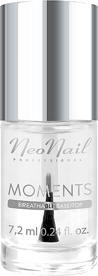 2in1 Base und Top - NeoNail Professional Moments Base/Top 2in1 — Bild N1