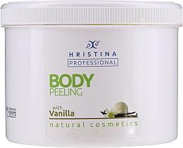 Düfte, Parfümerie und Kosmetik Körperpeeling mit Vanilleextrakt - Hristina Professional Vanilla Body Peeling
