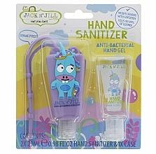 Düfte, Parfümerie und Kosmetik Antibakterielles Handpflegeset für Kinder - Jack N' Jill Hand Sanitizer Unicorn (Hanreinigungsgel 2x29 ml + Hülle)