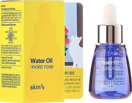Feuchtigkeitsspendendes Gesichtsserum mit Rosenwasser und Chia-Samen-Extrakt - Skin79 Water Oil Moist Rose — Bild N1