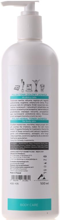 Körpertonikum mit Kräutern - Jadwiga Herbal Protective Toner — Bild N3