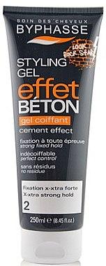Haargel starke Fixierung - Byphasse Cement Coiffant Styling Gel — Bild N1