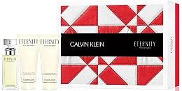 Düfte, Parfümerie und Kosmetik Calvin Klein Eternity For Women - Duftset (Eau de Parfum 50 ml + Körperlotion 100 ml + Duschgel 100 ml)