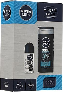 Duftset - Nivea Men Mineral Fresh (Duschgel 250ml + Deo Roll-On 50ml) — Bild N1