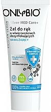 Düfte, Parfümerie und Kosmetik Antibakterielle Handcreme - Only Bio Silver Med Care+ Sicilian Lemon Hand Gel