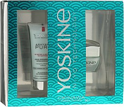 Düfte, Parfümerie und Kosmetik Gesichtspflegeset - Yoskine Okinava Green Caviar 50+ (Creme 50ml + Peeling 75ml)