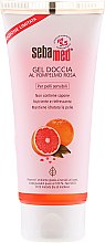 Düfte, Parfümerie und Kosmetik Pflegendes und erfrischendes Duschgel mit Granatapfel für empfindliche Haut - Sebamed Shower Gel With Grapefruit