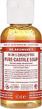 Düfte, Parfümerie und Kosmetik Flüssigseife Eucalyptus - Dr. Bronner's 18-in-1 Pure Castile Soap Eucalyptus