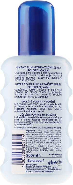 Feuchtigkeitsspendendes und beruhigendes Körperspray nach dem Sonnen - Nivea Sun Care Apres Spray De Soin — Bild N2