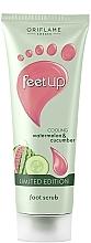 Düfte, Parfümerie und Kosmetik Kühlendes Fußpeeling mit Wassermelone und Gurke - Oriflame Feet Up Scrub