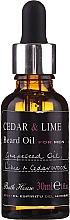 Bath House Cuban Cedar & Lime - Duftset (Eau de Cologne 100ml + Duschgel 260ml + Bartöl 30ml) — Bild N7