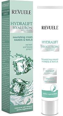 Hand- und Nagelcreme - Revuele Hydralift Hyaluron Hands And Nails Nourishing Cream — Bild N1