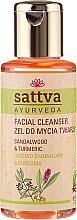 Düfte, Parfümerie und Kosmetik Gesichtsreinigungsgel - Sattva Facial Cleanser Sandalwood