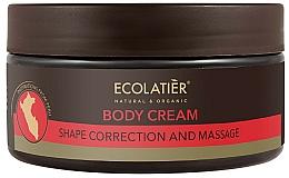 Düfte, Parfümerie und Kosmetik Massage-Körpercreme zum Abnehmen - Ecolatier