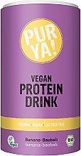 Düfte, Parfümerie und Kosmetik Protein-Getränkepulver mit rotem Banane-Baobab-Geschmack - Purya Vegan Protein Drink Red Banana