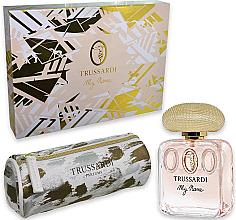 Düfte, Parfümerie und Kosmetik Trussardi My Name - Set (Eau de Parfum/50ml + Kosmetiktasche)
