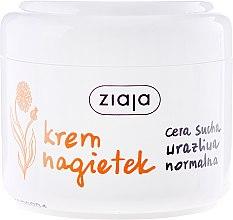 Düfte, Parfümerie und Kosmetik Pflegende Gesichtscreme mit Ringelblume - Ziaja Face Cream