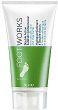 Düfte, Parfümerie und Kosmetik 2in1 Fuß-Peelingcreme mit Salizylsäure und Sheabutter - Avon Foot Works