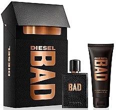 Düfte, Parfümerie und Kosmetik Diesel Bad - Set (edt/50ml + sh/gel/100ml)