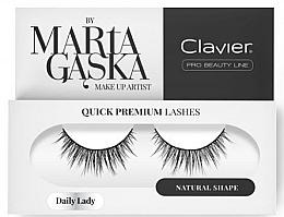 Düfte, Parfümerie und Kosmetik Künstliche Wimpern - Clavier Quick Premium Lashes Daily Lady 813