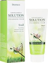 Düfte, Parfümerie und Kosmetik Pflegender Gesichtsreinigungsschaum mit Schneckenschleimextrakt - Deoproce Natural Perfect Solution Cleansing Foam Snail
