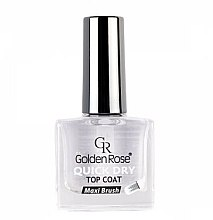 Düfte, Parfümerie und Kosmetik Schnelltrocknender Nagelüberlack - Golden Rose Quick Dry Top Coat