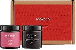 Düfte, Parfümerie und Kosmetik Pflegeset für Gesicht und Körper - Mokosh Cosmetics Regenerating Raspberry Limited Gift Set (Körperbutter 60ml + Gesichtscreme 60ml)