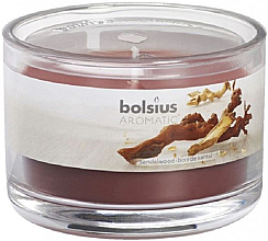 Düfte, Parfümerie und Kosmetik Duftglas Sandelholz - Bolsius Aromatic Candle 63 mm Ø 90 mm