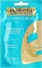 Düfte, Parfümerie und Kosmetik Gesichtsmaske - Perfecta 3x Hialuron Face Mask