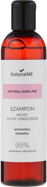 Sanftes Shampoo für trockenes und strapaziertes Haar - NaturalME Natural Hair Line Shampoo — Bild N1