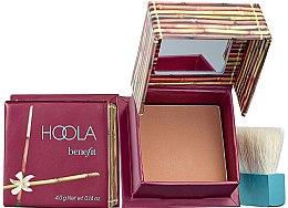 Düfte, Parfümerie und Kosmetik Benefit Hoola Matte Bronzing Powder - Bronzing-Gesichtspuder (Mini)