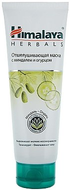 Feuchtigkeitsspendende Peel-Off Gesichtsmake mit Mandel und Gurke für normale bis trockene Haut - Himalaya Herbals — Bild N2