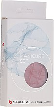 Düfte, Parfümerie und Kosmetik Maniküre-Set Lady MS-02 Schlangenhaut rot 5-tlg. - Staleks Manicure Set