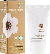 Düfte, Parfümerie und Kosmetik Tagescreme für normale und fettige Haut mit Honig - Natural Being Manuka Honey Day Cream