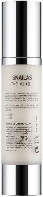 Anti-Aging Gesichtsgel mit Schneckensekret - SesDerma Laboratories Snailas Gel Facial — Bild N3