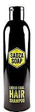 Düfte, Parfümerie und Kosmetik Shampoo mit flüssiger Aktivkohle - Sadza Soap Liquid Coal Hair Shampoo