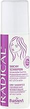 Düfte, Parfümerie und Kosmetik Trockenshampoo für fettiges Haar - Farmona Radical Dry Shampoo For Greasy Hair